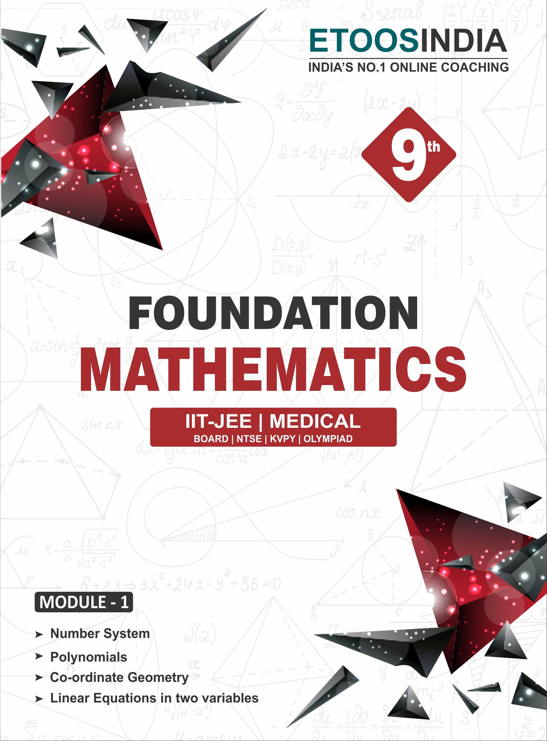 Class 9, 10 Foundation Mathematics for IIT-JEE & Medical by MC Sir