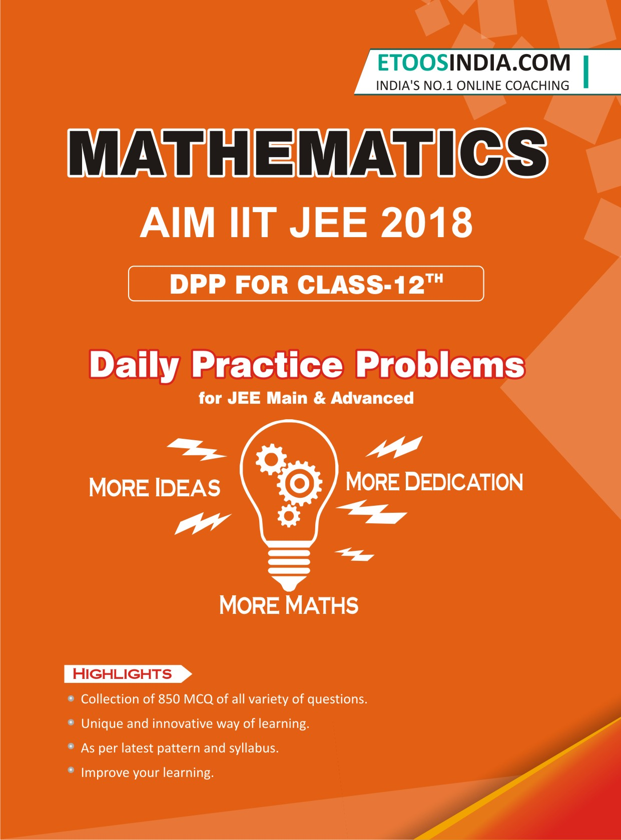 Class 11, 12 Complete Mathematics Books for JEE Main