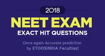2018 NEET EXACT HIT QUESTION